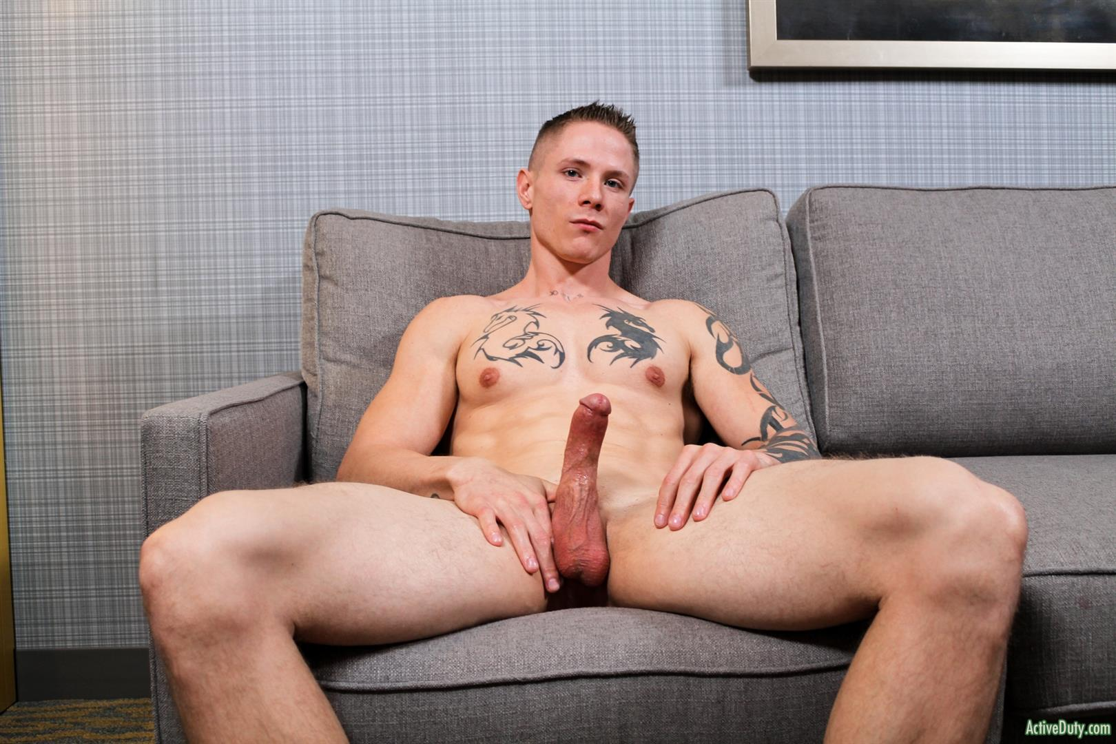 Men sexy naked military Gay